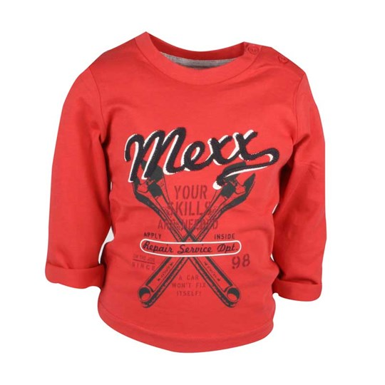Mexx T-shirt L/S Promo Plus Red Red