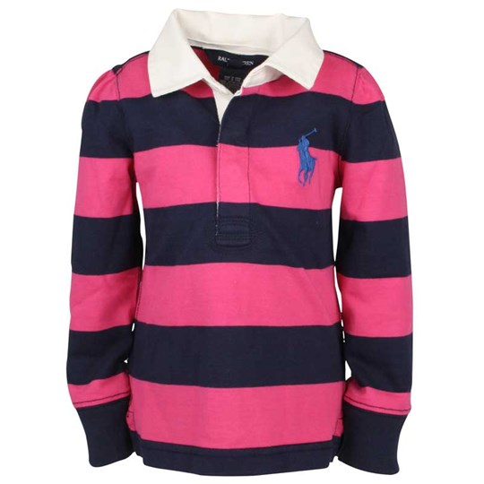 Ralph Lauren Athletic Rugby Stripe Jersey Pink