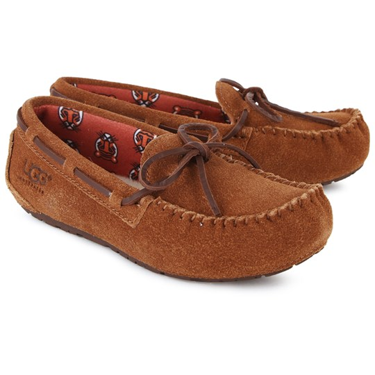 UGG Ryder Jungle Suede Slippers Tan