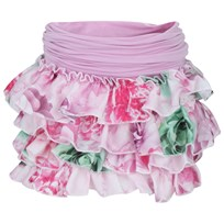 Microbe by Miss Grant Floral Printed Ruffle Skirt Multi