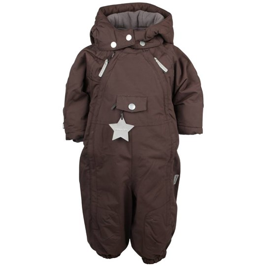 Mini A Ture Wisti Snowsuit Dark Coffe BROWN