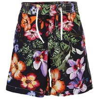 Hackett Floral Swim Short Navy, Green and Orange