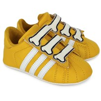 adidas Originals Jeremy Scott Bones Crib Shoes Yellow