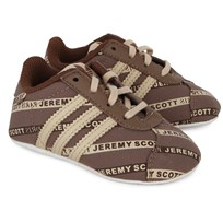 adidas Originals Jeremy Scott Logo Crib Shoes BROWN