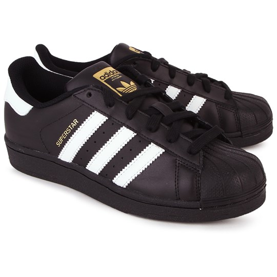 adidas Originals Superstar Foundation Laced Trainers Black