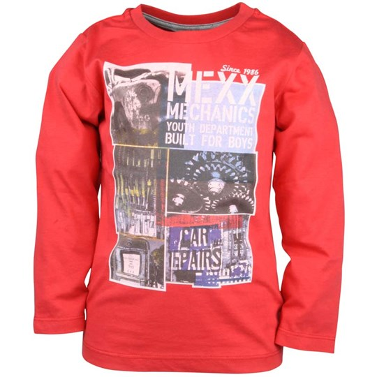 Mexx T-shirt LS Promo Red Red