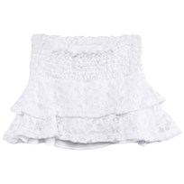 The BRAND Smock Skirt White
