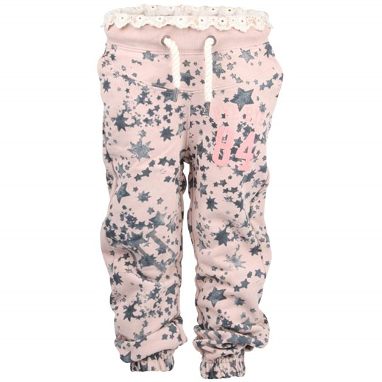 Scotch R'belle Sweat Pants Broderie Pink