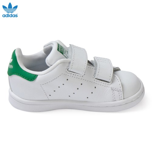 Green Infants Stan Smith Trainers