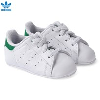 adidas Originals Stan Smith Crib Shoes FTWR WHITE/FTWR WHITE/GREEN