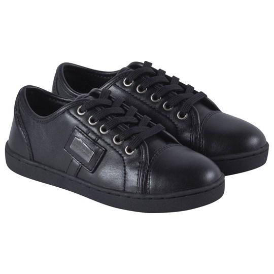 Dolce & Gabbana Black Classic Branded Trainers 80999