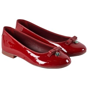 Image of Dolce & Gabbana Red Patent Ballet Pumps 30 (UK 11.5) (2839683501)