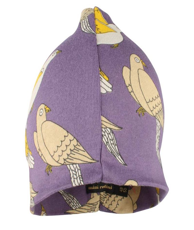 Doves Beanie Purple