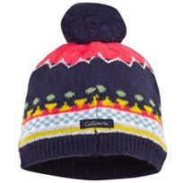 Catimini Multi Knitted Pompom Hat 48