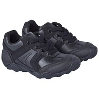 Geox Black Arno Lace Up Trainers C9999