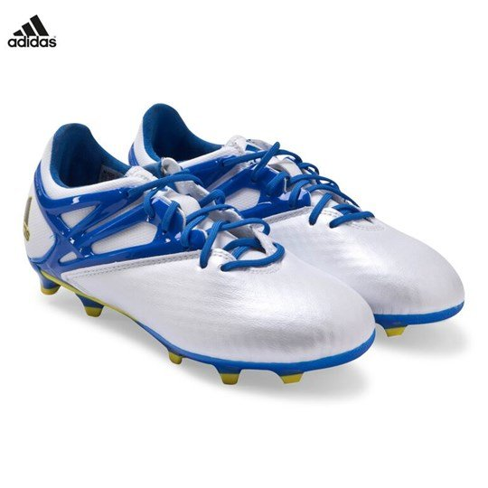 adidas Performance Messi 15.1 Firm Ground Boots FTWR WHITE/PRIME BLUE