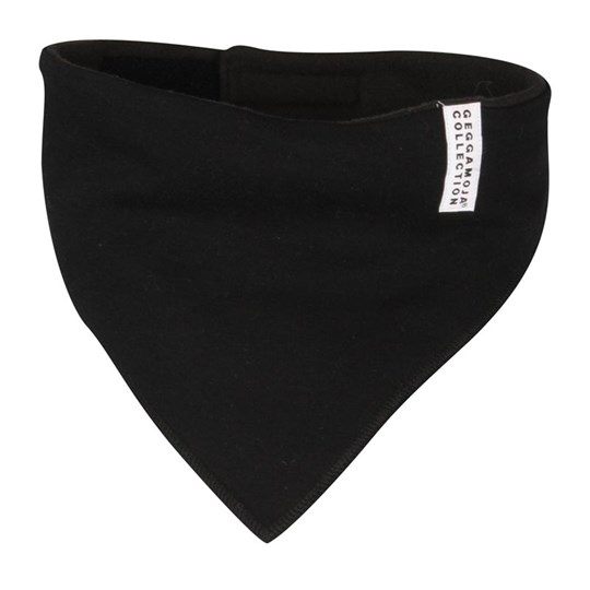 Geggamoja Fleece Scarf Black Black