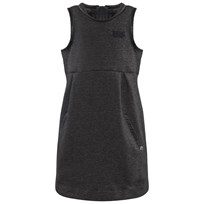 IKKS Charcoal Jersey Pinafor Dress 2