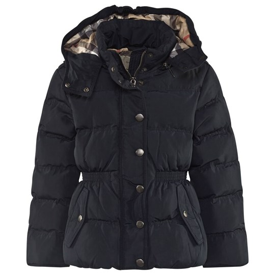 Burberry Nova Puffer Coat Navy 85N