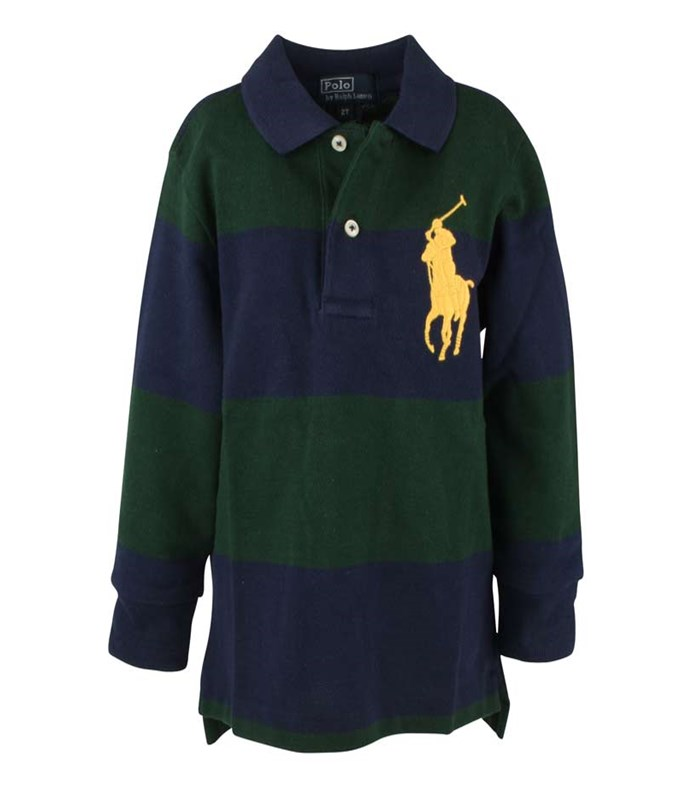 LS Polo Big PP Striped Navy