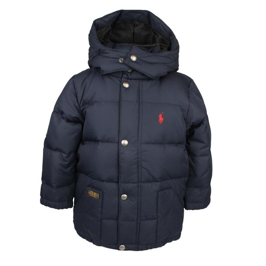 Ralph Lauren Elmwood Down Jacket Aviator Navy Blue