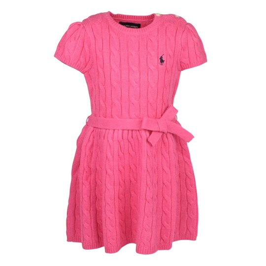 Ralph Lauren Cable Dress Pink Pink