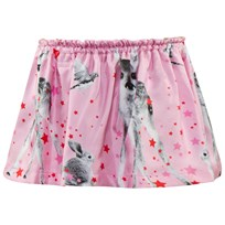 Anne Kurris Reversable Pink Bunny Print And Gold Skirt BAMBI ROSE