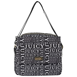 Image of Juicy Couture Black and White Logo Novelle Bag (2839674957)