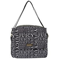 Juicy Couture Black and White Logo Novelle Bag BLACK / VANILLA