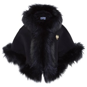Image of Bandit`s Girl Black Faux Fur Cape L (8-9 years) (2806806489)