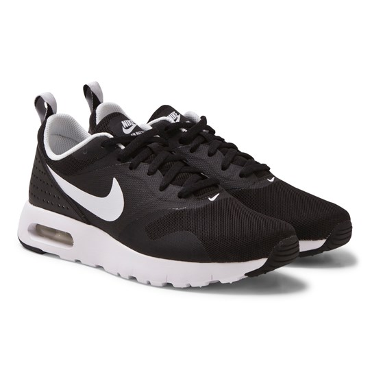 NIKE Black Air Max Tavas Trainers Black