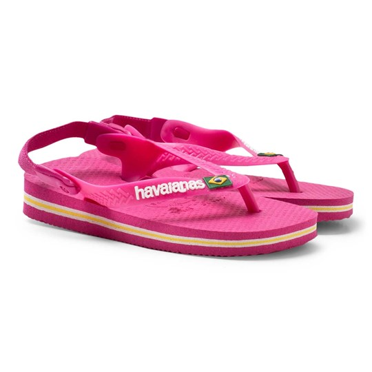 Havaianas Pink Baby Brazil Sandals 2655 ORCHID ROSE