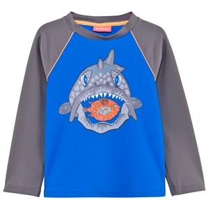 Image of Sunuva Blue and Grey Puffer Rash Vest 3-6 months (2995683805)