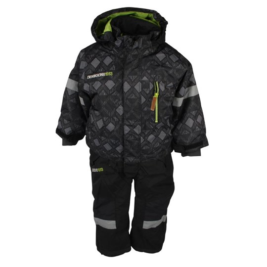 Didriksons Powell Coverall Black Black