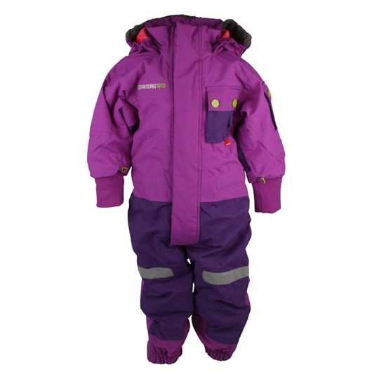 Didriksons Sutton Coverall Purple Purple