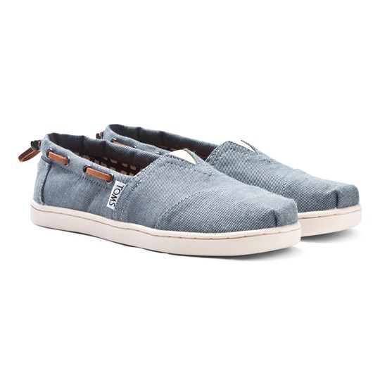 Toms Chambray Youth Biminis Blue Chambray