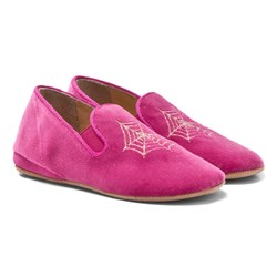 Charlotte Olympia Wincy Slip-on Shoes in Pink
