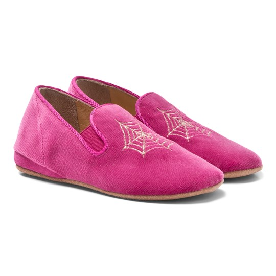 Charlotte Olympia Wincy Slip-on Shoes in Pink Pink