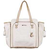 Mayoral Cream Chevron Quilted Changing Bag 33