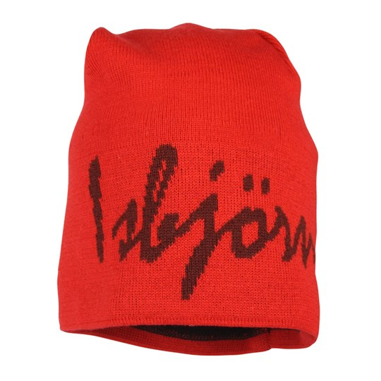 Isbjörn Of Sweden Knitted Cap Isbjörn Red Red