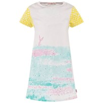 Billieblush Pink Multi All Over Mermaid Print Dress 45