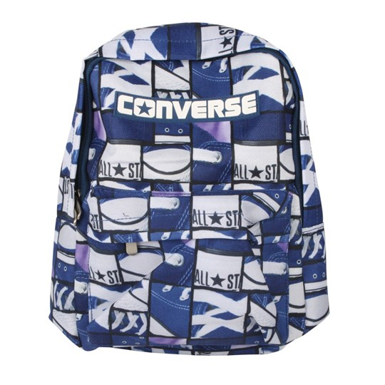 Converse Backpack Navy Blue/White Multi