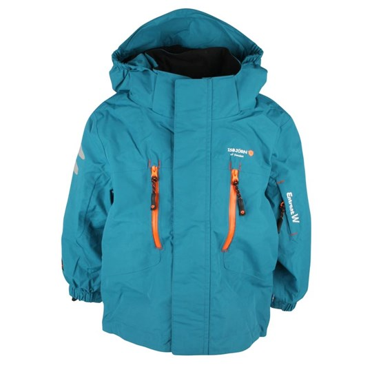 Isbjörn Of Sweden Climber Shell Jacket Petrol Blue