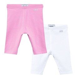 Mayoral Pink and Cream 2 Pack of Leggings