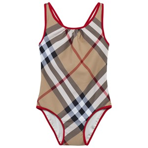 Image of Burberry One-Piece Check Swimsuit New Classic Check 4 years (2887907193)