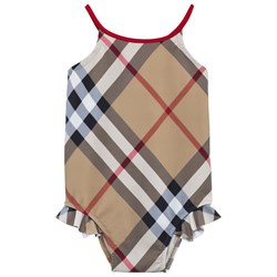 Burberry Check One-Piece Swimsuit New Classic Check