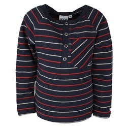 ebbe Kids Didrik T-shirt Navy/Red/Grey