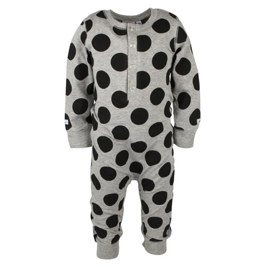 ebbe Kids Dumbo Bodysuit Dot Grey/Black Sort