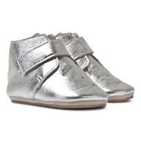 Easy Peasy Silver Kiny Cat Booties Silver