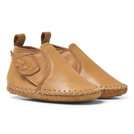 Easy Peasy Mustard Wings Crib Shoes Honey